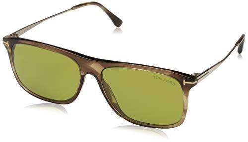 Tom Ford Sonnenbrille FT0588 47N 57 Gafas de sol, Marrón (Braun), 57.0 para Hombre