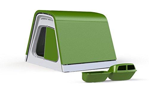 Omlet Poulailler Eglu Go avec Accessoires - Vert Feuille