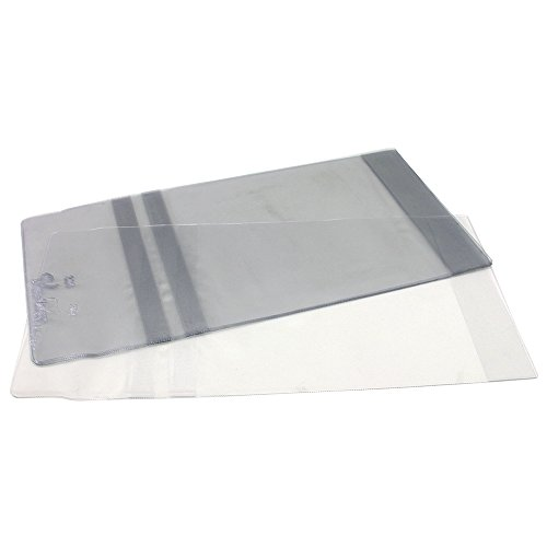 Vista-Gloves Slip-On Book Covers - Fits Up To 10 Inch H Book - 10 Pack