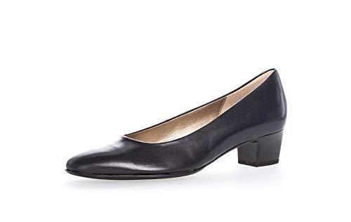 Gabor Damen Pumps, Frauen Elegante Pumps,Best Fitting, Court-Shoes Absatzschuhe Abendschuhe stöckelschuhe,Ocean,39 EU / 6 UK