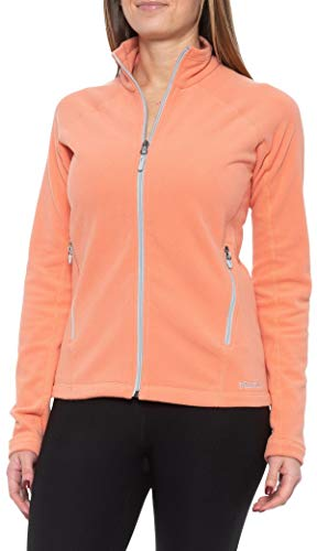 Marmot Women's Rocklin Full-Zip Jacket, Lightweight 100-Weight Fleece