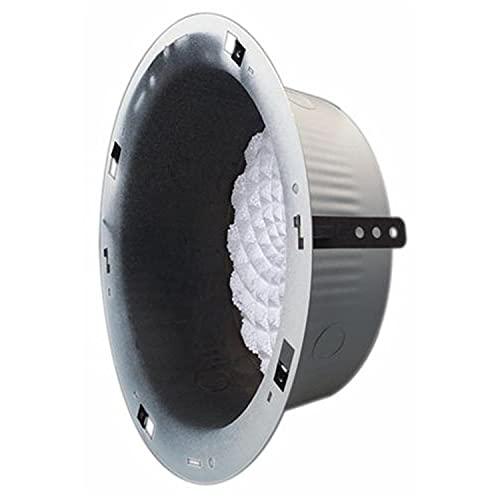 Bogen BG-RE84 Round Recessed Ceiling Speaker Enclosure - New - White Box - BG-RE84