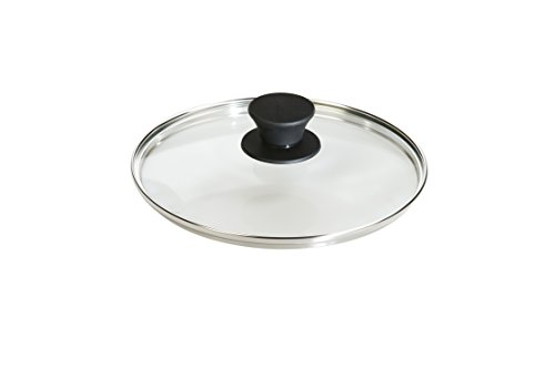 Lodge Tempered Glass Lid (8 Inch) – Fits Lodge 8 Inch Cast Iron Skillets and Serving Pots