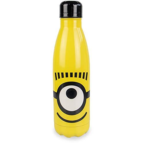 Myga 750ml Roestvrij Staal Herbruikbare Kinderen Minions Waterfles - Metalen Kids Drinks Flesje - BPA-Gratis Sap Fles voor Thuis, School, College, Outdoor Plezier, Activiteiten en Sport