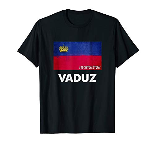 Vaduz Liechtenstein Trikot T-Shirt