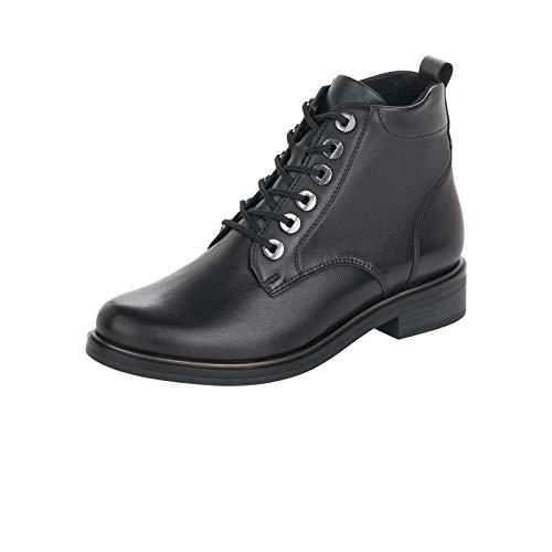 Remonte Damen D8370 Mode-Stiefel, schwarz/schwarz / 01, 37 EU