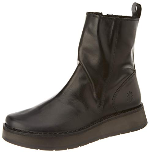 FLY LONDON Damen RENO053FLY Stiefelette, BLACK, 41 EU