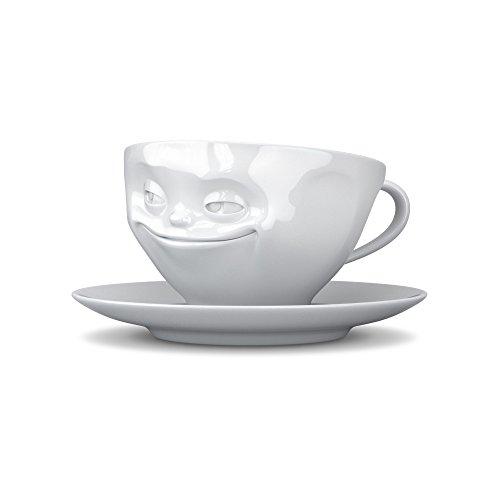 Fiftyeight Kaffeetassen Set, 2-er Set Och Bitte + grinsend, TV Tassen