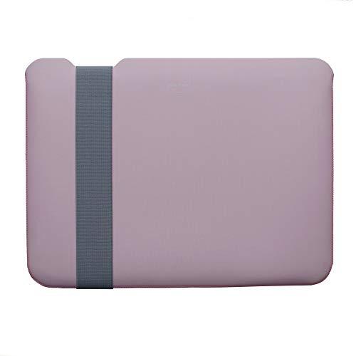 Acme Made Skinny Sleeve S, Ultra-dünne Tablet- & Notebookhülle, 11-13 Zoll, Neopren, pink/grau