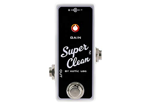 Xotic Super Clean Buffer Pedal