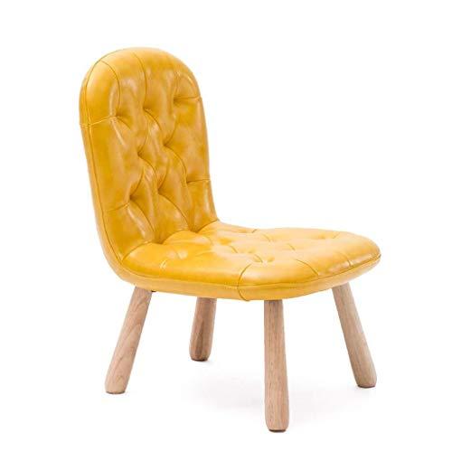 YANGWB2000 massief houten kinderstoel lage kinderdagverblijf bureaustoel leren kleine stoel startpagina back sofa stoel schrijftstoel schilderstoel babydrager