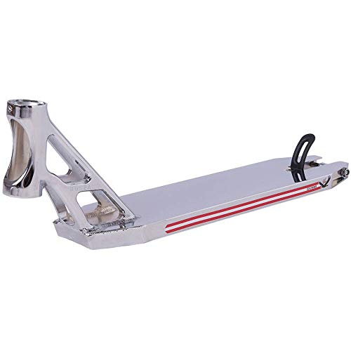 Striker Bgseakk Magnetite Stunt Scooter Deck - Plataforma para patinete (cromo, 49 cm)