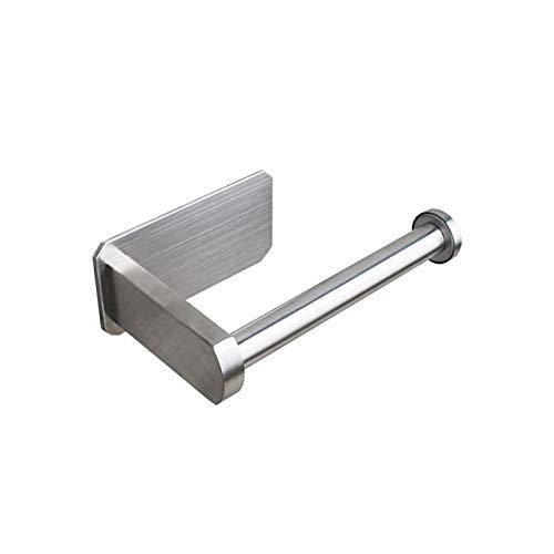 Portarrollos Soporte De Papel Higiénico Autoadhesivo para Baño Stick En La Pared Acero Inoxidable Cocina Baño Toalla De Papel Hogar A