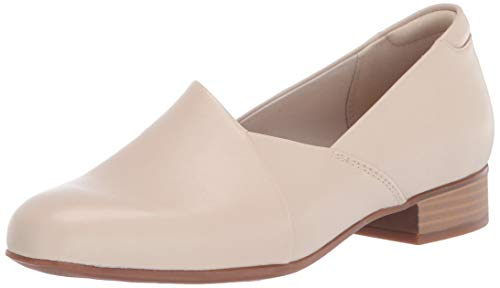Clarks Women's Juliet Palm Loafer, Ivory Leather, 90 W US