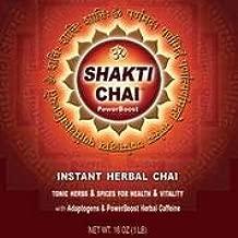 Golden Lotus Herbs Chai Tea (Shakti Chai PowerBoost with Adaptogens, 16 Oz.)