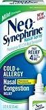 Neo-Synephrine Neo-Synephrine Nasal Spray Mild Formula, 0.5 oz (Pack of 2)