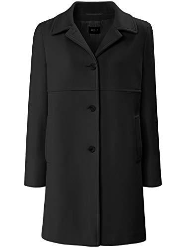 Basler Damen Mantel in Uni-Design mit Eingrifftaschen