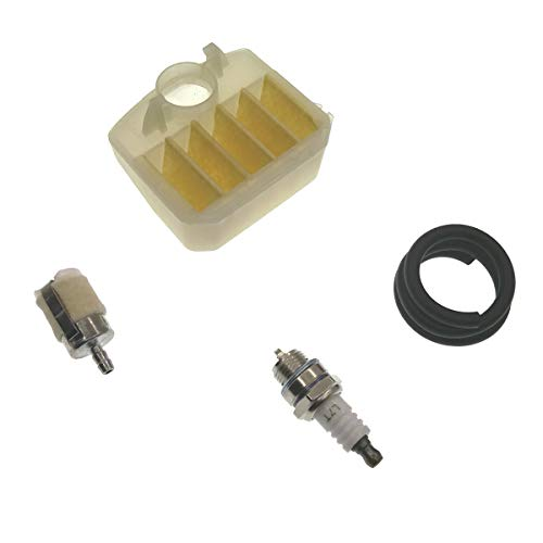 Cancanle Luchtfilter Brandstofslang Spark Plug Tune Up Onderhoud Service Kit Voor Husqvarna 350 340 345 346 XP 351 353 Kettingzaag Onderdelen