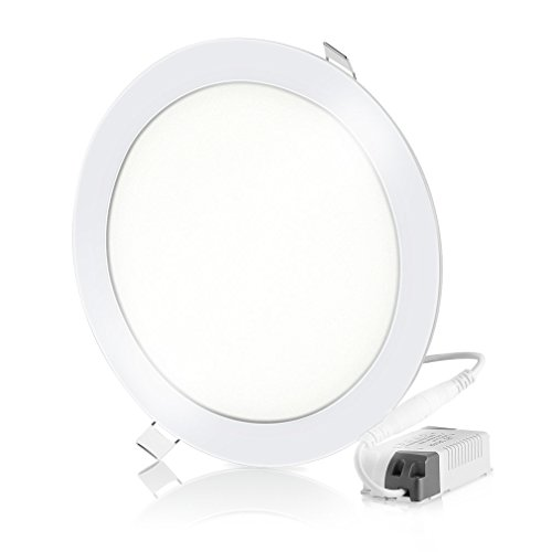 24W Super Bright Ultradunne LED-paneelverlichting Plafondlampen Inbouwlamp Witte LED-paneelverlichting Rond