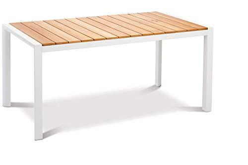Best Tisch Paros, Teakholz, ca. 210 x 90 cm, Zeitlose Optik, witterungsbeständig