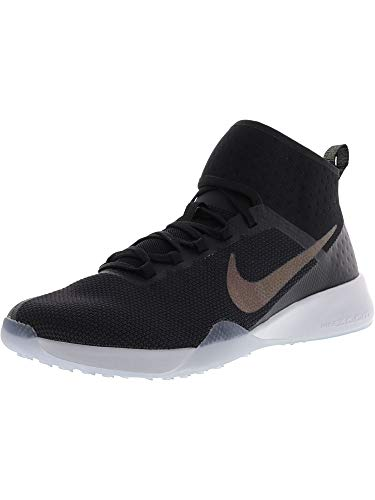 Nike Damen Air Zoom Strong 2 Metallic Running Trainers 922876 Sneakers Schuhe (UK 7 US 9.5 EU 41, Black Multi Colour 001)