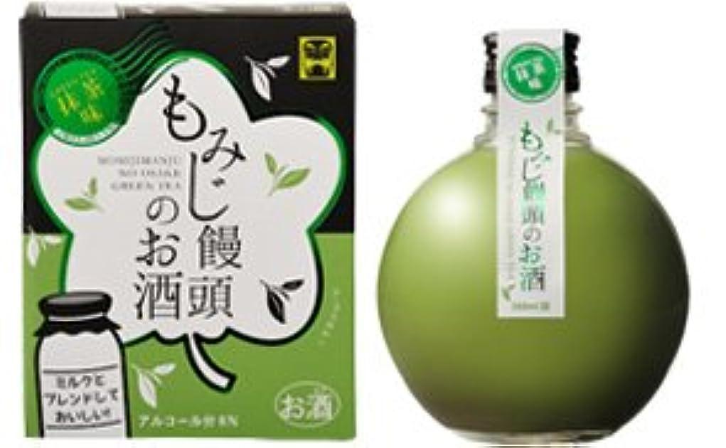 タクシー可決ミント中国醸造 もみじ饅頭のお酒 抹茶味 360ml
