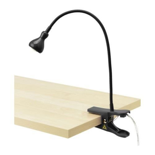 Ikea 103.863.13 JANSJÖ LED-Klemmspot SCHWARZ