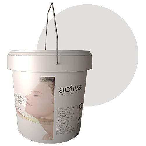 PHOTODECO GRIS. Pintura Fotocatalítica. Lavable para interior. Antivirus y Antibacterias, Descontaminante, Antiolores, Autolimpiable. 4L