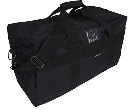 Grand sac de sport et de voyage US Army Airforce en nylon - 57 L - 3 couleurs, Noir