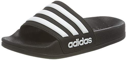 Adidas Adilette Shower K, Zapatos de Playa y Piscina Unisex niño, Negro (Negbás/Ftwbla/Negbás 000), 33 EU