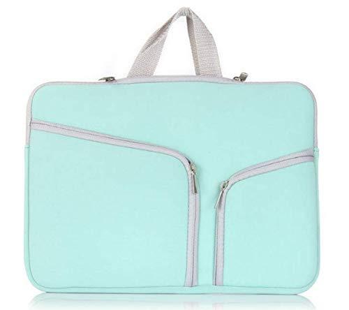 Aqua 15.6inch 15.4inch Macbook/Chromebook/Ultrabook/Vivobook/Notebook/Laptop Carrying bag sleeve skin cover for HP DELL ACER LENOVO ASUS MSI LG TOSHIBA ALIENWARE RAZER (15.6inch, Aqua)