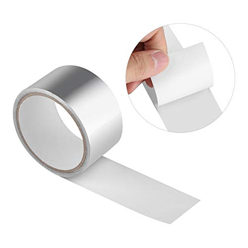 Heat Shield Tape - Lijm Afdichting Tape, Aluminium folie Warmte Shield Tape Lijm Afdichting Tape Thermische Weerstand Kanaal Reparaties Tool