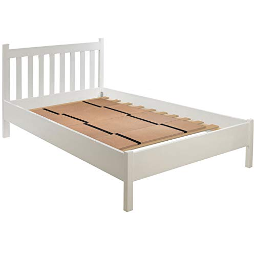 DMI Folding Bunkie Bed Board for-Mattress Support, can be used instead of a Box Spring to Streamline and Minimize the Bed or with a Box Spring to Enhance Bed Support, No Assembly Required, Double
