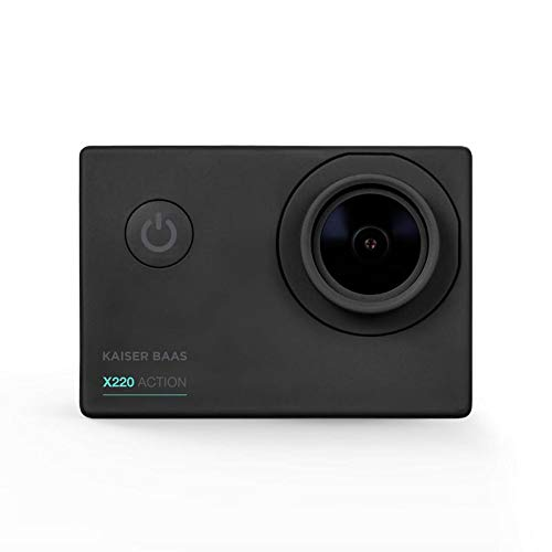 Kaiser Baas KBA12062 X220 1080p 30FPS 5 MP 4G Lens Wi-Fi Action Camera - Black