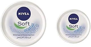 NIVEA Refreshingly Soft Moisturizing Cream – 300 ml + 100 ml