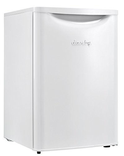 Danby DAR026A2WDB Contemporary Classic Cubic Feet Compact All Refrigerator, White