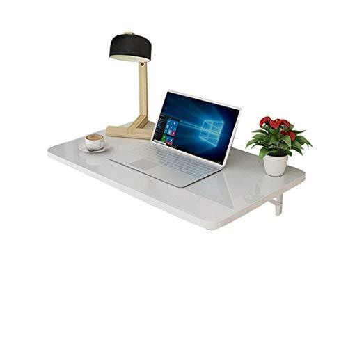 TLMY Mesa Plegable, Escritorio de computadora de Pared, Mesa de Trabajo de Pared, Mesa de Estudio for niños, Mesa de Cocina, Blanco Mesa Plegable (Size : 80×40cm)