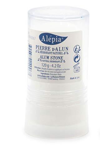 Alepia - Pierre d'Alun naturelle - Stick 120 G - Potassium Alun