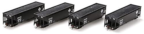 forma única HO RTR 40' 3-Bay Offset Hopper Hopper Hopper w Load, Erie  2 (4) by Athearn  conveniente