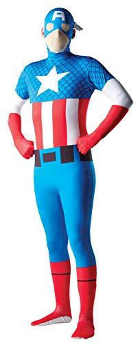 Men's Marvel 2nd Skin Captain America Jumpsuit