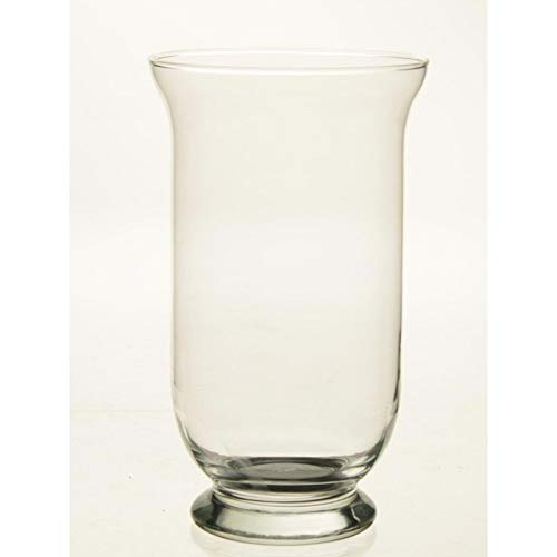 Kelk vaas glas 25 cm Transparant