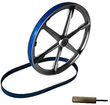 New Blue Max Heavy Duty Replacement Band Saw Urethane Tire Set W