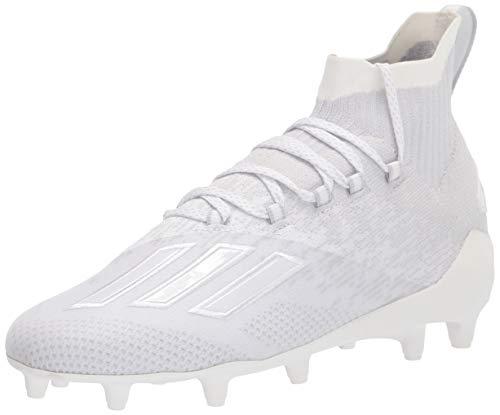 adidas Adizero Primeknit Cleat - Men's Football White/Clear Grey