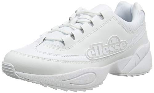 ellesse Sparta, Zapatillas Mujer, Blanco (White/White/White Wht/Wht/Wht), 41 EU