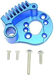 Traxxas E-Revo 2.0 VXL Brushless (86086-4) Upgrade Parts Aluminum Motor Mount With Heat Sink Fins - 1Pc Set Blue