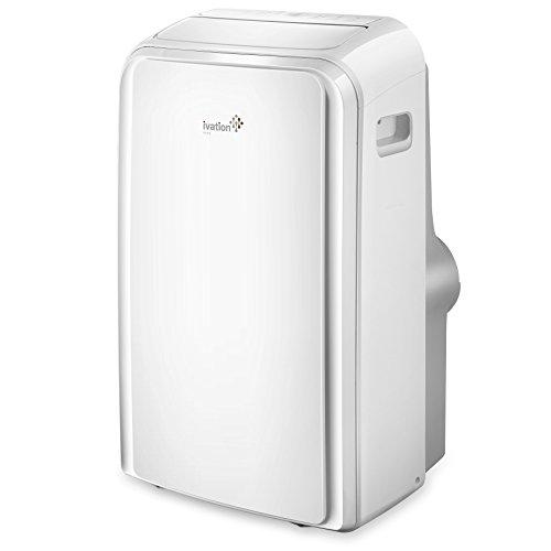 Ivation 12,000 BTU Portable Air Conditioner – Dual-Hose AC Unit &...
