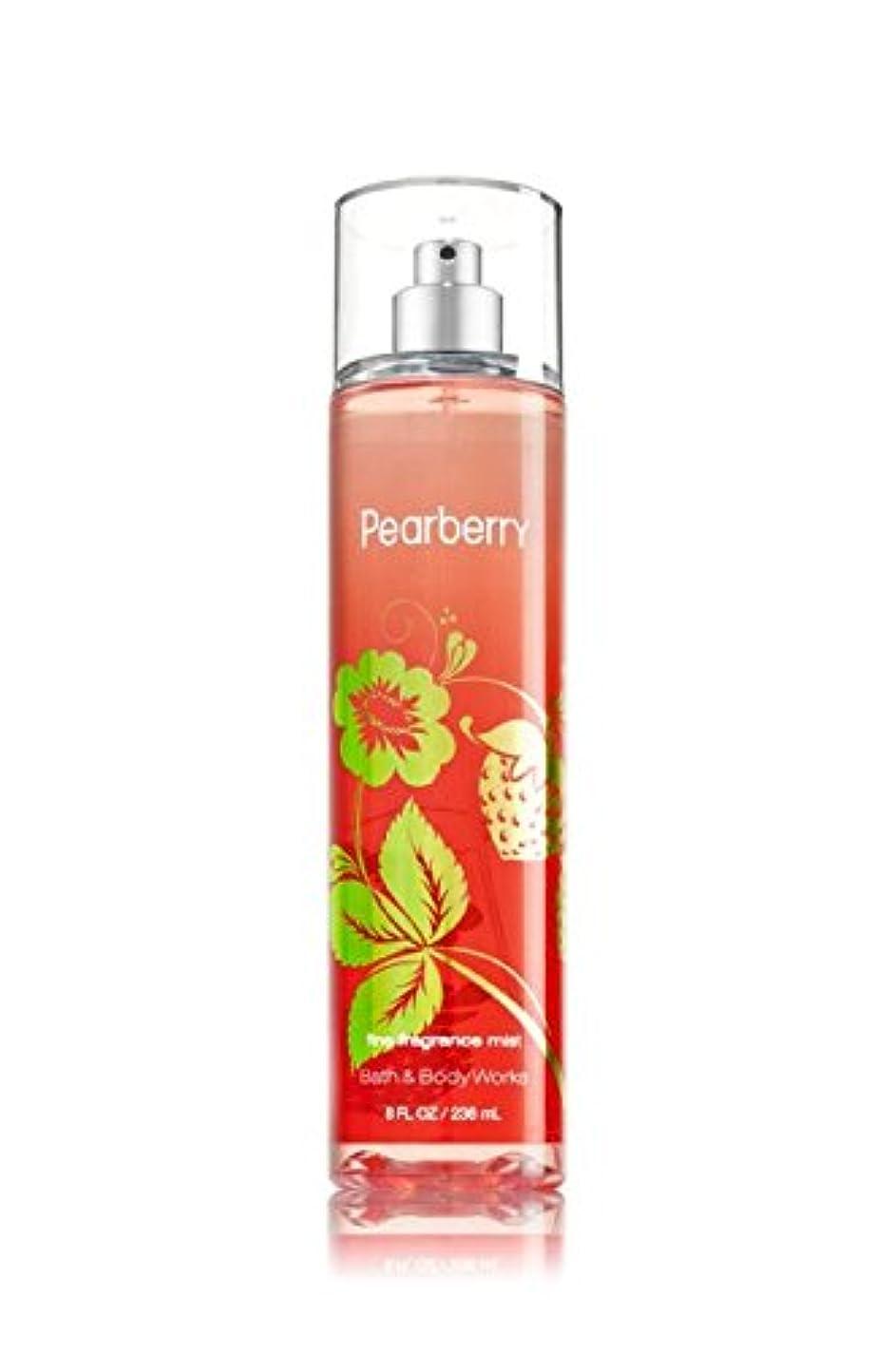 現金リボンアクセスできない【Bath&Body Works/バス&ボディワークス】 ファインフレグランスミスト ペアベリー Fine Fragrance Mist Pearberry 8oz (236ml) [並行輸入品]