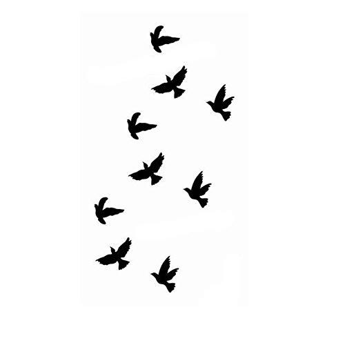 Tatouages éphémères Oiseau de Etitulaire