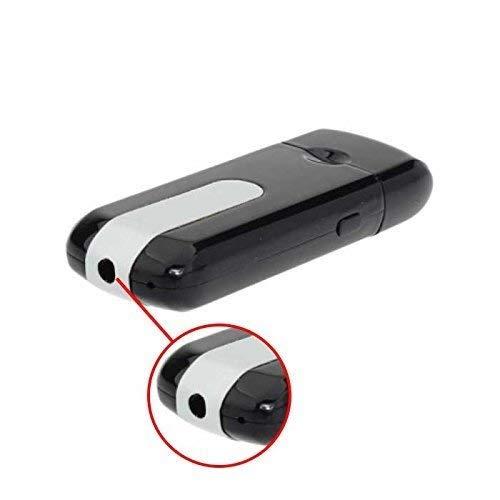 Sekuai Mini USB Flash Drive Spy Cam Camera HD 5MP DVR Video Recorder U8 Charger