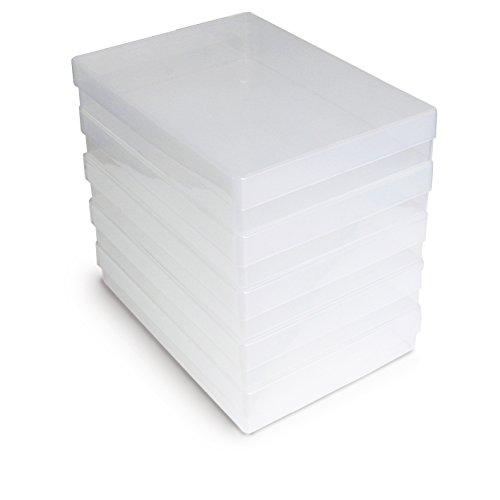Papertent klar A4 Aufbewahrungskiste, Packung mit 5
